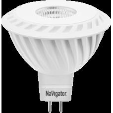 Лампа светодиодная (LED) Navigator 94 350 NLL-MR16-7-230-3K-GU5.3-60D