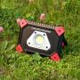 Ручной светодиодный фонарь Elektrostandard аккумуляторный 165х120 1000-600-350 лм 4690389125584