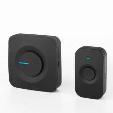 Звонок беспроводной Elektrostandard DBQ23M WL 52M IP44 черный 4690389142635