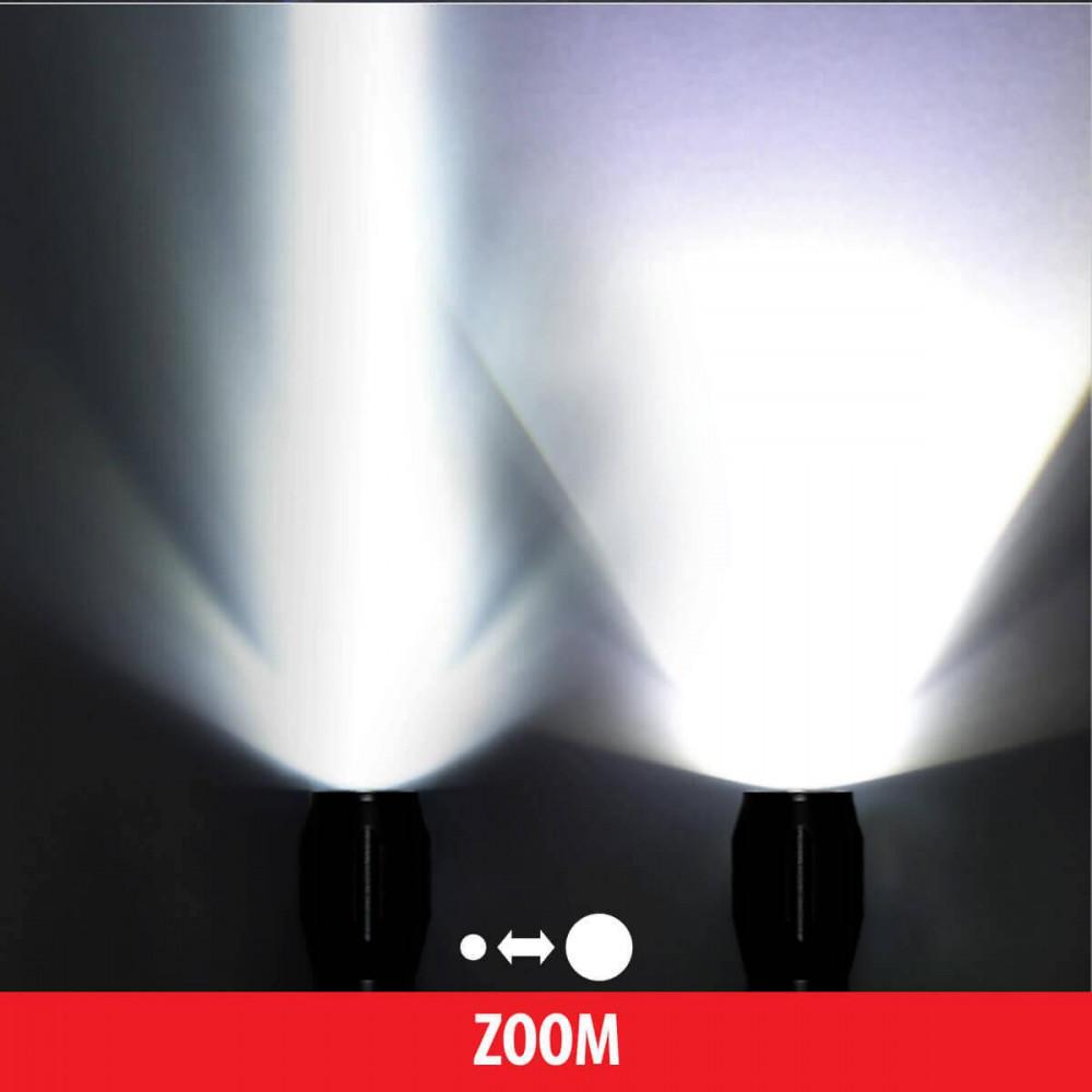 Ручной светодиодный фонарь Elektrostandard Space от батареек 315х50 600 лм 4690389037597