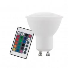 Лампа светодиодная диммируемая Eglo GU10 4W 3000K матовая 10686
