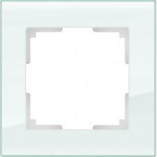 Рамка Favorit на 1 пост натуральное стекло WL01-Frame-01 4690389060168