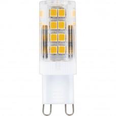 Лампа светодиодная Feron G9 5W 2700K прозрачная LB-432 25769