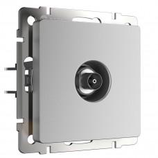ТВ-розетка Werkel оконечная серебряный WL06-TV 4690389053955