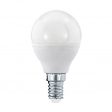Лампа светодиодная диммируемая Eglo E14 5,5W 3000K матовая 11648