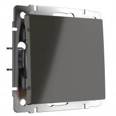 Выключатель Werkel одноклавишный серо-коричневый WL07-SW-1G 4690389053979