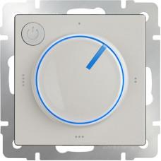 Терморегулятор электромеханический для теплого пола Werkel WL03-40-01 слоновая кость 4690389132698