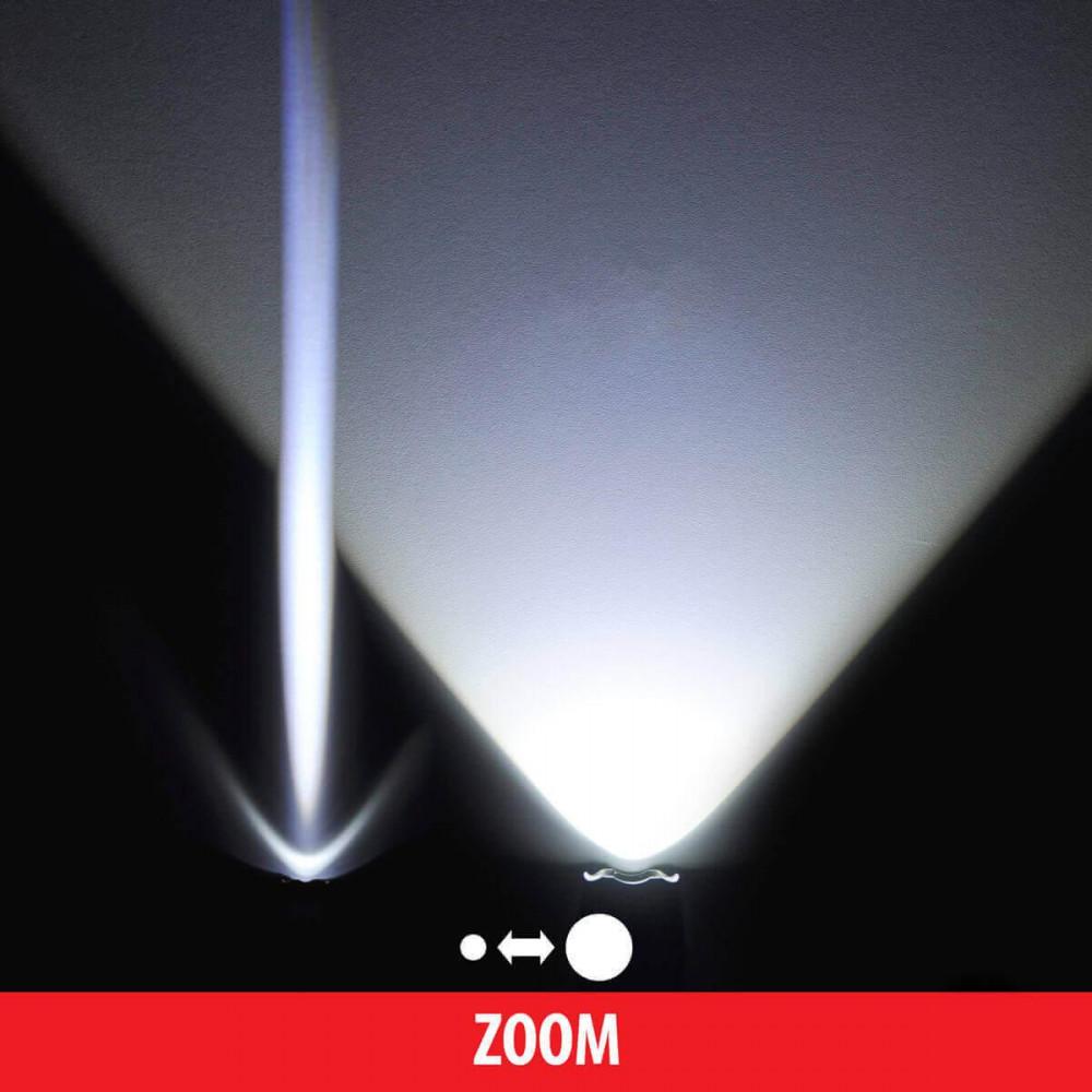 Ручной светодиодный фонарь Elektrostandard Polo от батареек 160х40 200 лм 4690389098901