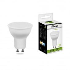 Лампа светодиодная Feron GU10 7W 4000K Грибок матовая LB-26 25290