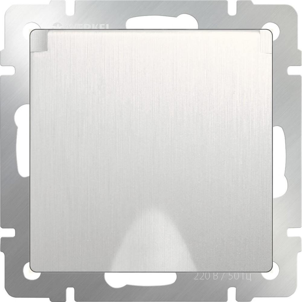Розетка с заземлением, с защитной крышкой и шторками WL13-SKGSC-01-IP44 4690389124358