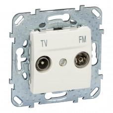 Розетка TV-FM одиночная Schneider Electric Unica MGU5.451.25ZD