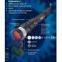 Ручной светодиодный фонарь (03813) Uniel от батареек 152х32 235 лм P-ML075-PB Black
