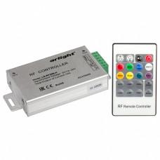 Контроллер-регулятор цвета RGB с пультом ДУ Arlight LN-RF20 LN-RF20B-H (12-24V,180-360W, ПДУ 20кн)