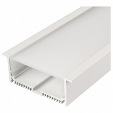 Профиль Arlight SL-LINIA88-F-2500 WHITE+OPAL 021373
