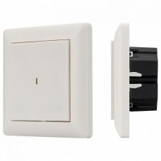 Диммер клавишный Arlight Knob SR-KN0100-IN White (KNX, DIM)