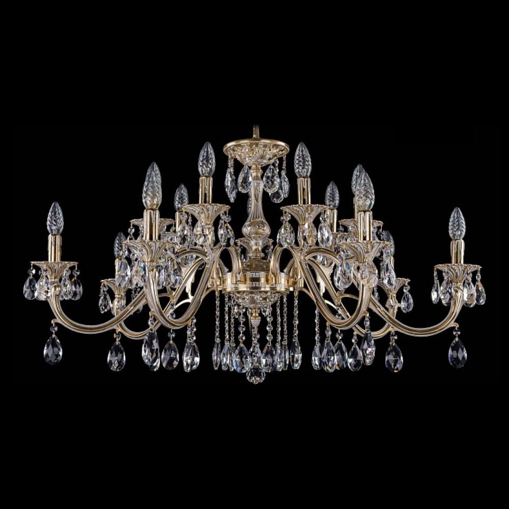 Подвесная люстра Bohemia Ivele Crystal 1703 1703/14/360/A/GW