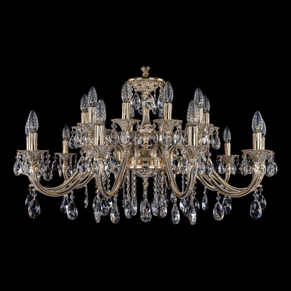 Подвесная люстра Bohemia Ivele Crystal 1703 1703/20/360/A/GW