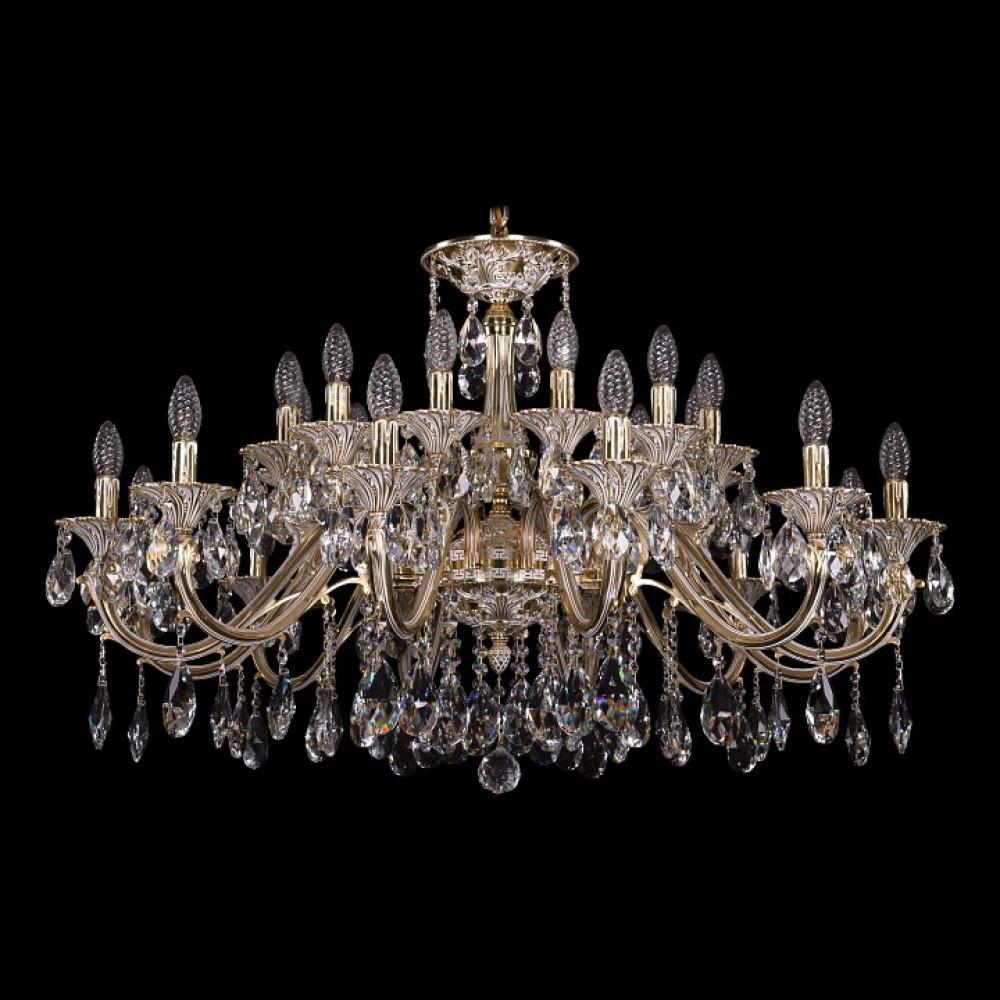 Подвесная люстра Bohemia Ivele Crystal 1703 1703/24/360/A/GW
