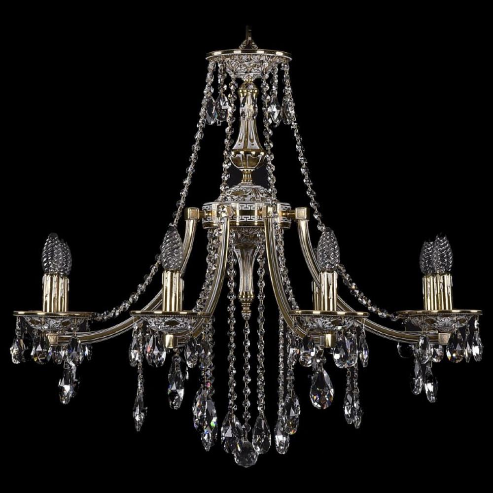 Подвесная люстра Bohemia Ivele Crystal 1771 1771/8/270/B/GW