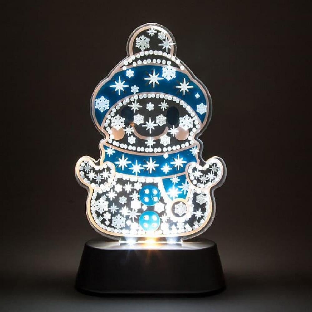 Снеговик световой (18.5 см) LT099 26961