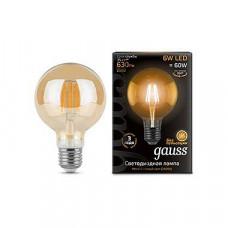 Лампа светодиодная Gauss 1058 E27 6Вт 2400K 105802006