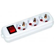 Удлинитель с выключателем Horoz Electric 200-302-302 HRZ00001493