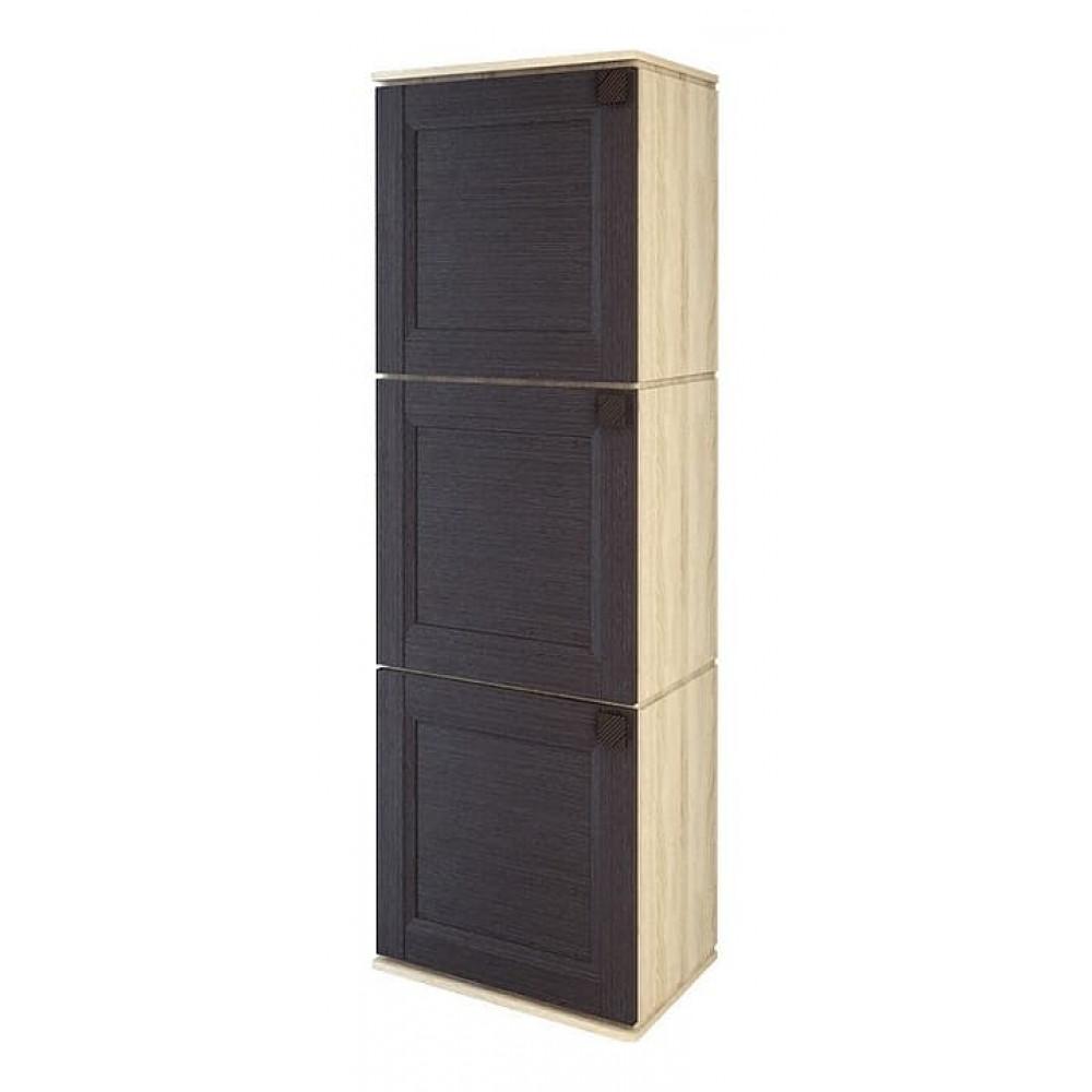 Шкаф для белья Марсель ШК 6001 м1 венге/дуб сонома