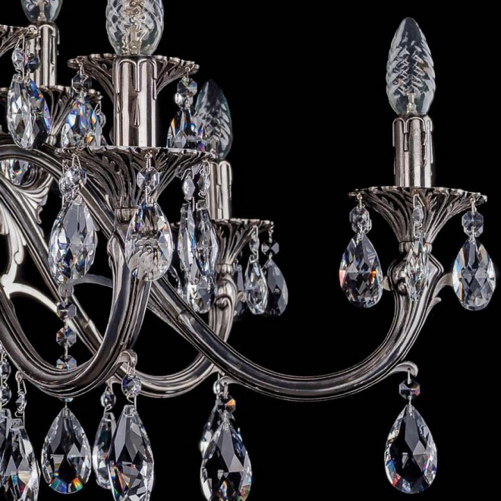 Подвесная люстра Bohemia Ivele Crystal 1703 1703/14/360/A/NB