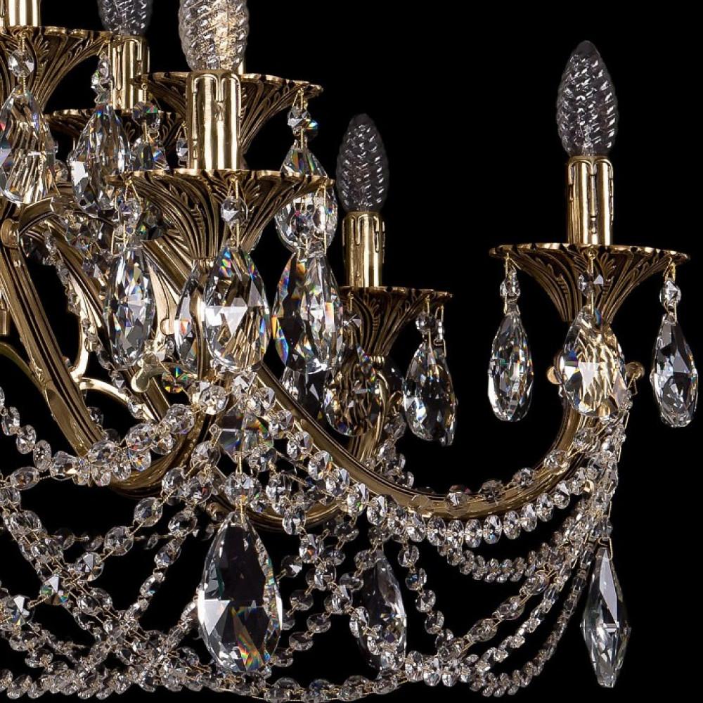 Подвесная люстра Bohemia Ivele Crystal 1703 1703/14/360/C/GB