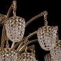 Подвесная люстра Bohemia Ivele Crystal 1772 1772/24/342/GB