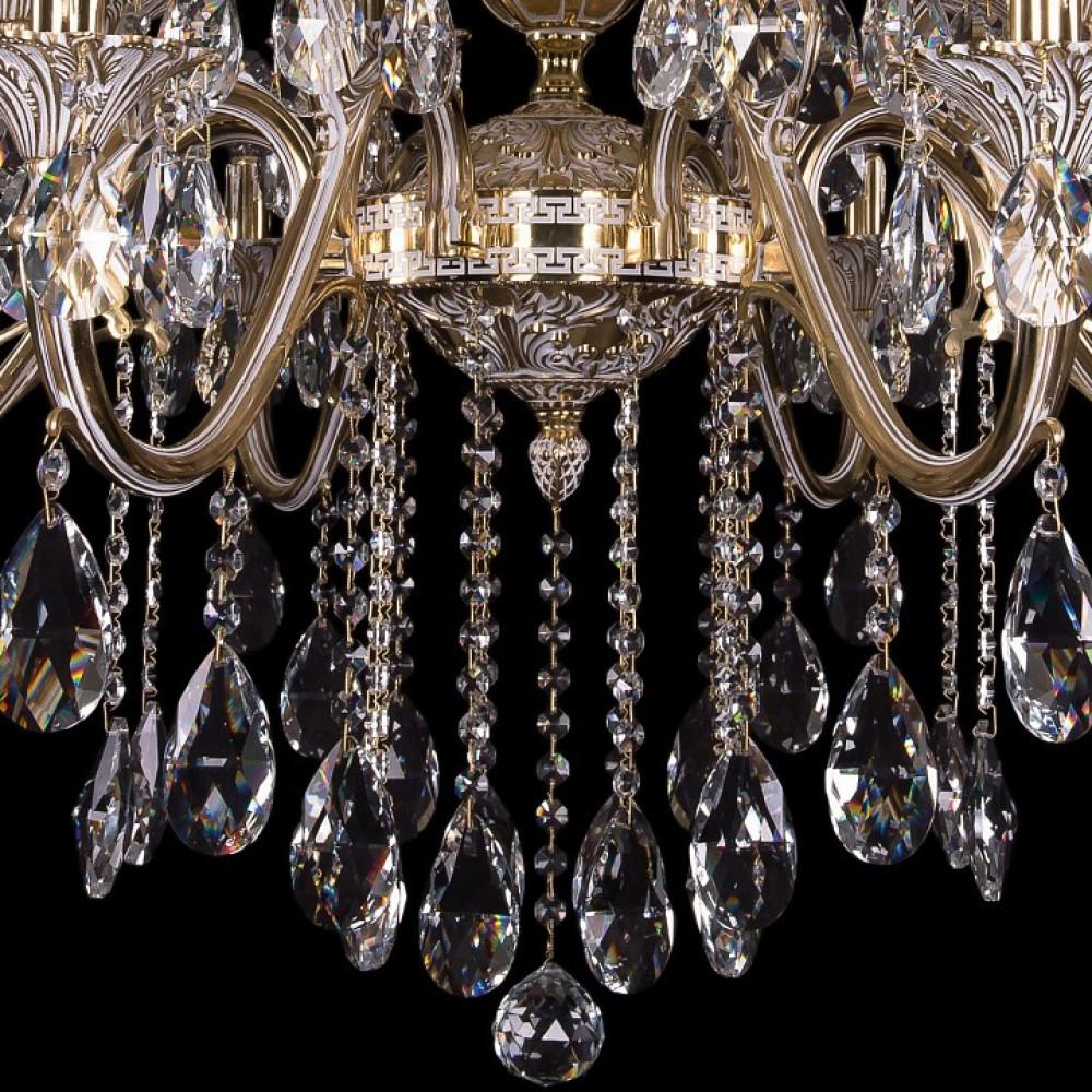 Подвесная люстра Bohemia Ivele Crystal 1703 1703/16/360/B/GW