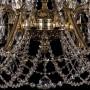 Подвесная люстра Bohemia Ivele Crystal 1703 1703/16/360/C/GB