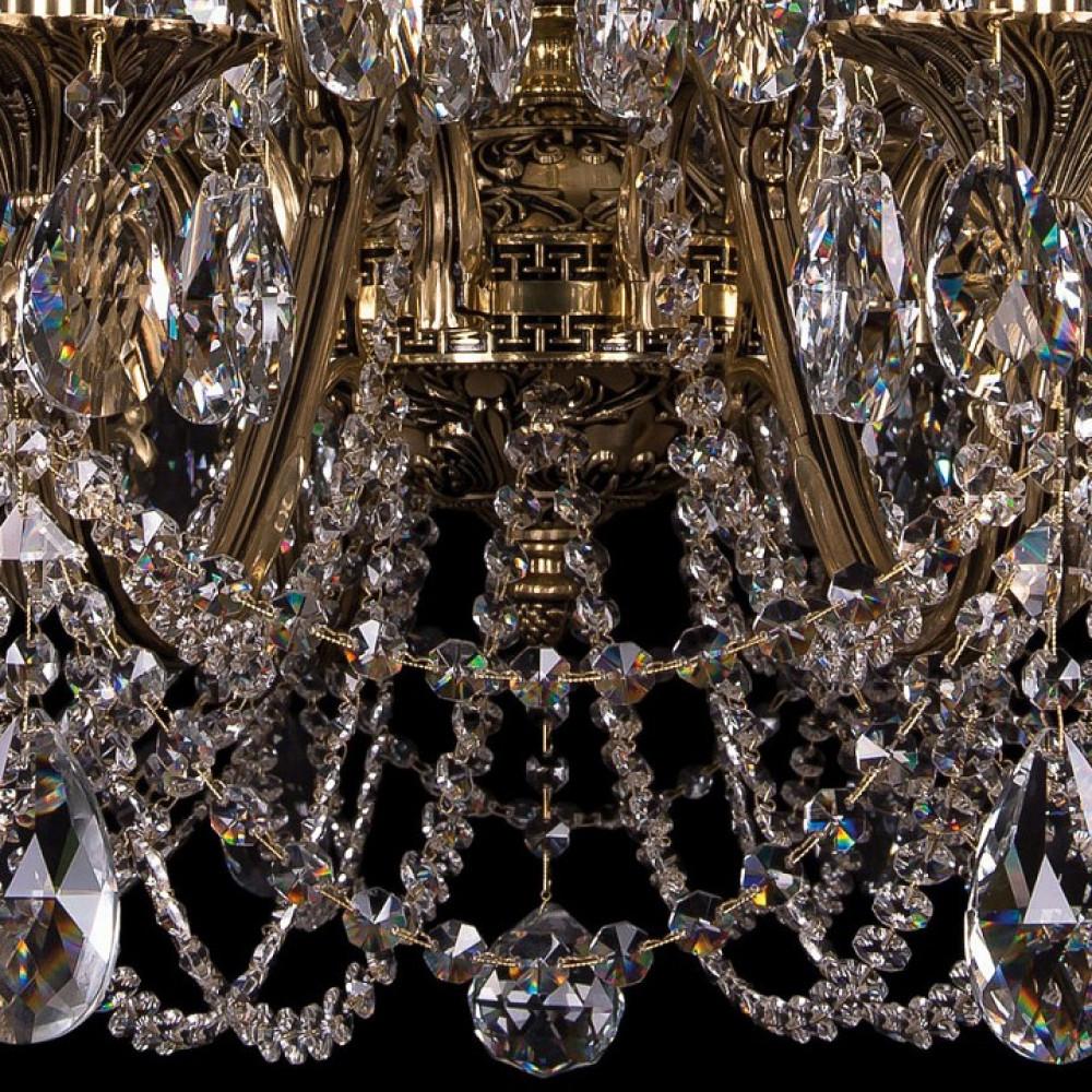 Подвесная люстра Bohemia Ivele Crystal 1703 1703/24/360/C/GW