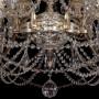 Подвесная люстра Bohemia Ivele Crystal 1709 1709/18/410/C/GW