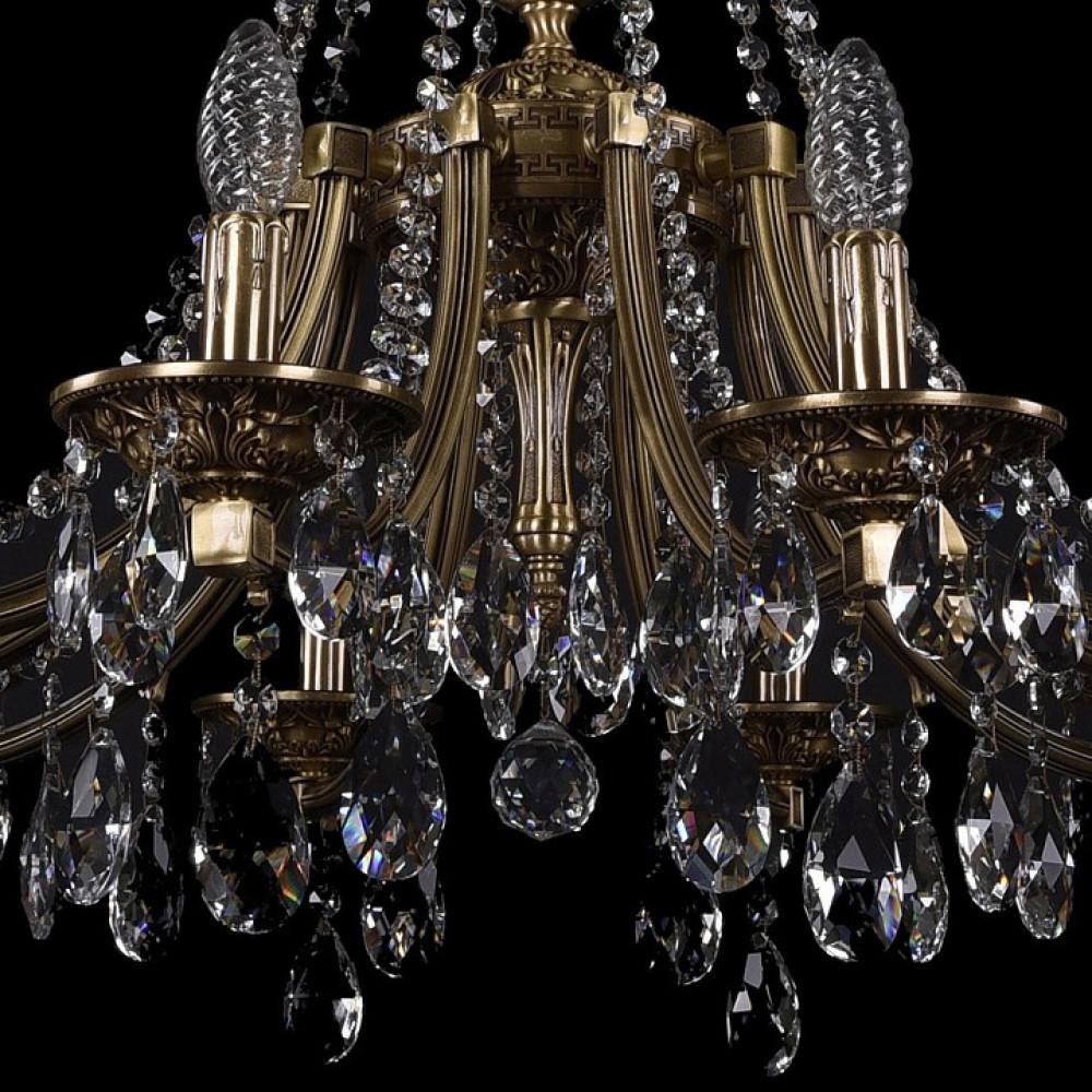 Подвесная люстра Bohemia Ivele Crystal 1771 1771/10/270/A/FP