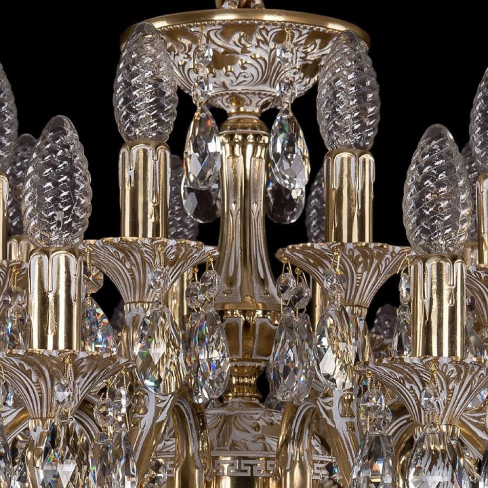 Подвесная люстра Bohemia Ivele Crystal 1703 1703/20/225/A/GW