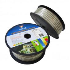 Лента светодиодная (бобина) ULS-Q325 2835-60LED/m-10mm-IP67-220V-6W/m-50M-DW
