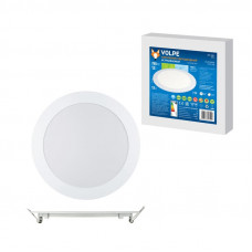 Светильник встраиваемый светодиодный ТМ Volpe ULP-Q202 R170-12W/NW WHITE