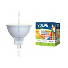 Лампа светодиодная диммируемая LED-JCDR-5W/WW/GU5.3/DIM/O